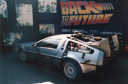 On display at Universal, circa 1986-1987