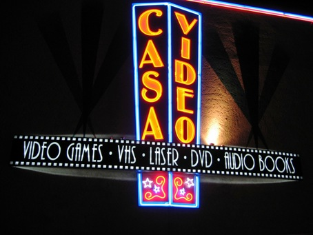 Casa Video beats the heck out of Blockbuster!