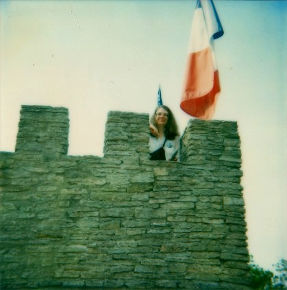 Me at an American castle.
