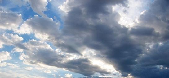 Cloudscape, June 21st, 6:45 PM.