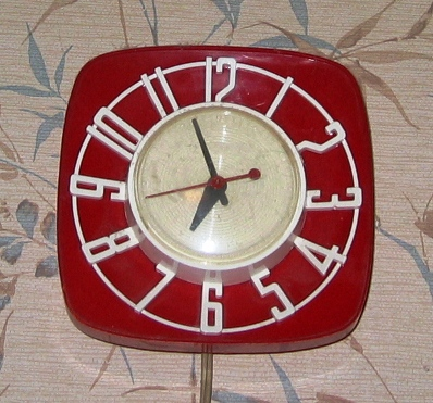 the vintage clock