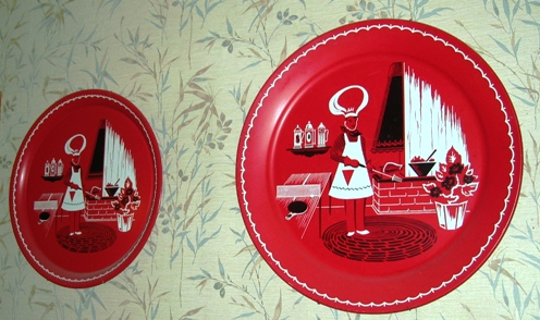 vintage barbeque trays