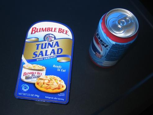 Boring tuna.