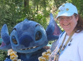Stitch and I are like *this*!
