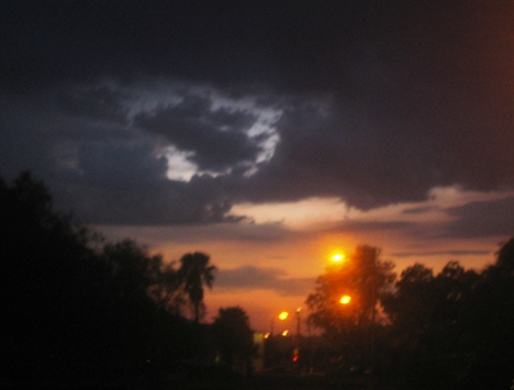 My street, post-Sunset.