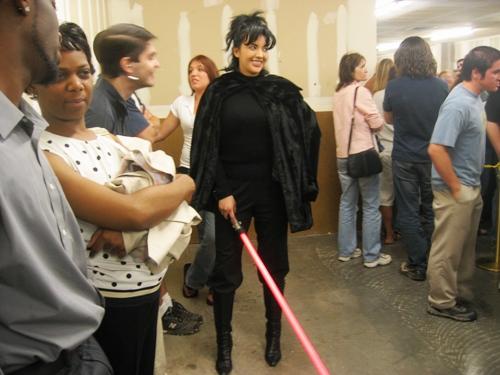 the prettiest Jedi in line.