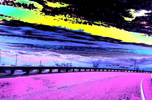 Sand dunes near Yuma - or perhaps an alien planet